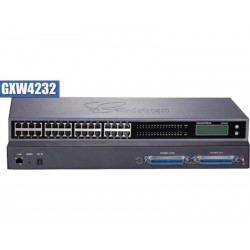 Grandstream GXW-4232 FXS Gateway ขนาด 32-Port FXS, 1 Port Lan, T.38 Fax Over IP, 132x48 backlit graphic VOIP / IP-PBX ระบบโทร...