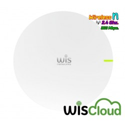 WisNetworks WisCloud Access Point WCAP Wireless AP แบบ Indoor 2.4GHz N 300Mbps พร้อม POE