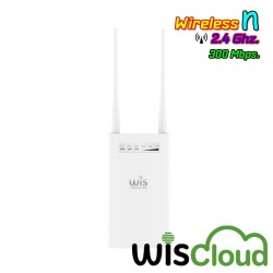 WisNetworks WisNetworks (วิช เน็ทเวิร์ค) WisNetworks WisCloud Outdoor Access Point (WCAP-OUTDOOR) Wireless AP N 2.4GHz 300Mbp...