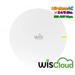 WisCloud 802.11ac Dual-Band Access Point Lite (WCAP-AC-L) Wireless AP 867Mbps เสา 3dBi POE 802.3af Wireless AccessPoint (กระจ...