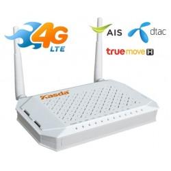 Kasda 3G/4G Wireless Router KASDA KW9621B 300Mbps Dual WAN 4G/LTE Router ใส่ Sim รองรับ 4G ทุกเครือข่าย ความเร็ว 150/50Mbps