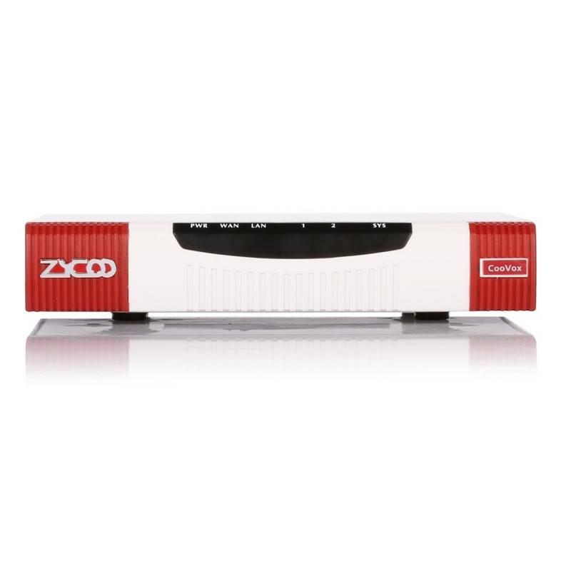 Zycoo CooVox-U20 V2 ตู้สาขา IP-PBX รองรับ 2 คู่สายนอก (2FXO) 2 Port Lan, 4GB SD-Card Max 20 users ZYCOO CooVox IP-PBX