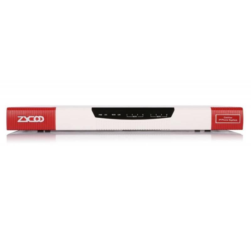 Zycoo CooVox-U100 V2 ตู้สาขา IP-PBX 2 Slot รองรับ 2 Module, 2 Lan,16G EMMC, 500G HD storage, Max 500 users ZYCOO CooVox IP-PBX