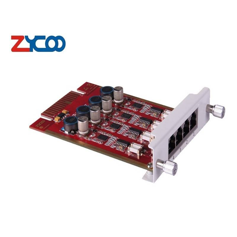 Zycoo 4FXS module (For U50/U100) (+Replacement during repair) ZYCOO CooVox IP-PBX