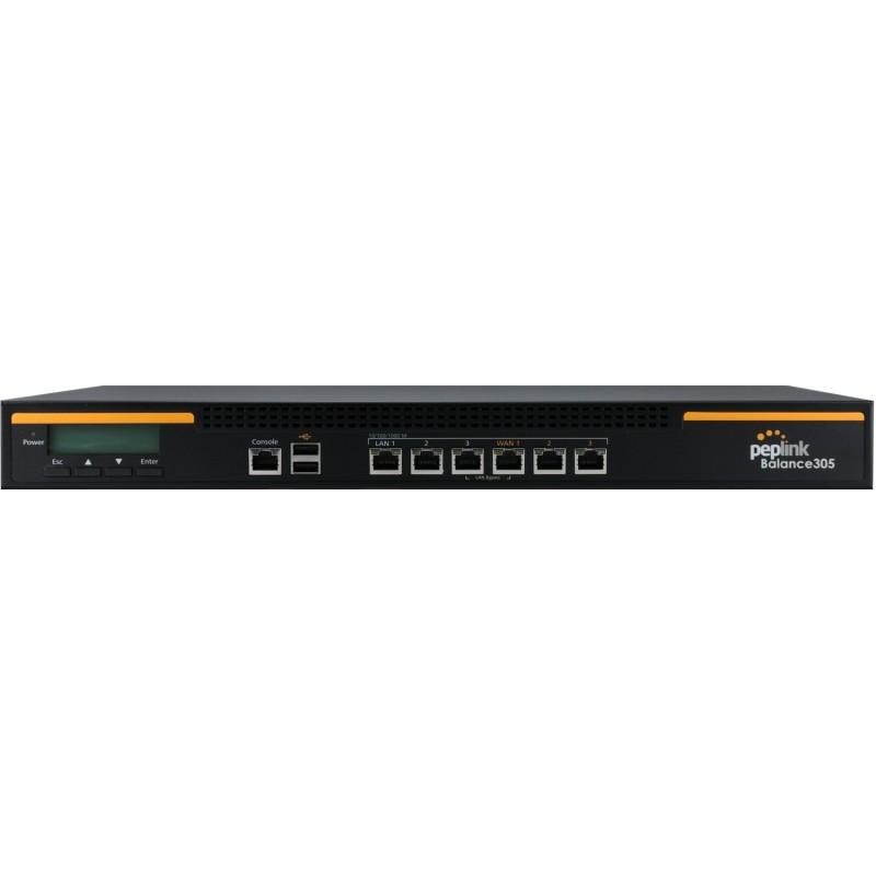 Peplink Balance 305 (BPL-305) Loadbalance 3 Wan VPN 20 Tunnels รองรับ Internet 1Gbps 500 Users Peplink Balance