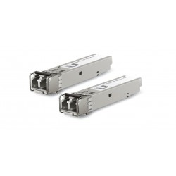 Ubiquiti UFiber UF-MM-1G SFP Module Pack คู่ LC Multi-Mode Speed 1.25Gbps Wavelength 850nm ระยะ 550m Ubiquiti (ยูบิคิวตี้)