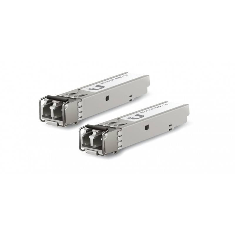 Ubiquiti UFiber UF-MM-1G SFP Module Pack คู่ LC Multi-Mode Speed 1.25Gbps Wavelength 850nm ระยะ 550m Ubiquiti (ยูบิคิวตี้)