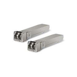 Ubiquiti UFiber UF-MM-10G SFP+ Module Pack คู่ LC Multi-Mode Speed 10Gbps Wavelength 850nm ระยะ 300m