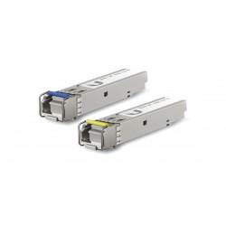 Ubiquiti UFiber UF-SM-1G-S SFP Module Pack คู่ LC Single-Mode Simplex Speed 1.25Gbps 1550/1310nm 3Km Ubiquiti (ยูบิคิวตี้)