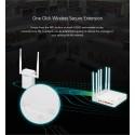 TOTOLINK EX200 300Mbps Wireless N Range Extender ขยายระยะสัญญาณ WIFI ให้ไกลขึ้น ติดตั้งง่ายมาก Wireless AccessPoint (กระจายสั...