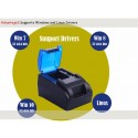 Honeprt USB Thermal Printer Paper size 58mm รองรับ Windows 10 ระบบ Hotspot จัดเก็บ Log