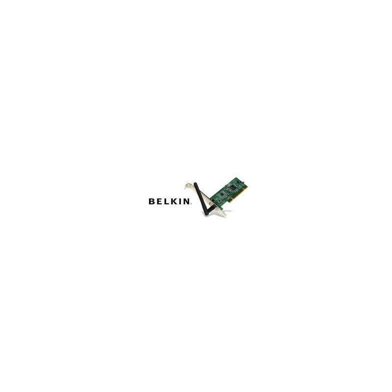 Wireless PCI Adapter BELKIN F5D7000AK - Wireless Desktop Network Card 54Mbps