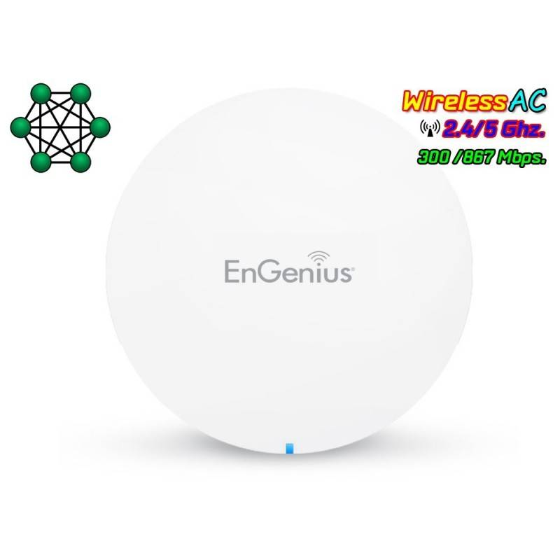EnGenius EMR3000 EnMesh Whole-Home Wi-Fi System Wireless AC1200 Dual-Band MESH Wireless Access Point