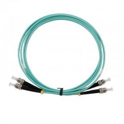 Patch Cord Fiber Optic Cable สาย Patch Cord Fiber Optic หัวต่อแบบ ST-FC Duplex 50/125um Multi-mode