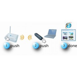 EnGenius EUB-9801 300Mbps Dual-Band Wireless N USB Adapter Wireless USB Adapter
