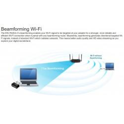 Edimax EW-7822ULC ตัวรับ Wireless AC1200 Dual-Band MU-MIMO USB Adapter Wireless Adapter (รับสัญญาณ Wireless)