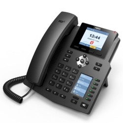 Fanvil X4G IP-Phone 4 SIP Lines Account , HD Voice, LCD Color 320x240 Phonebook Port Gigabit PoE