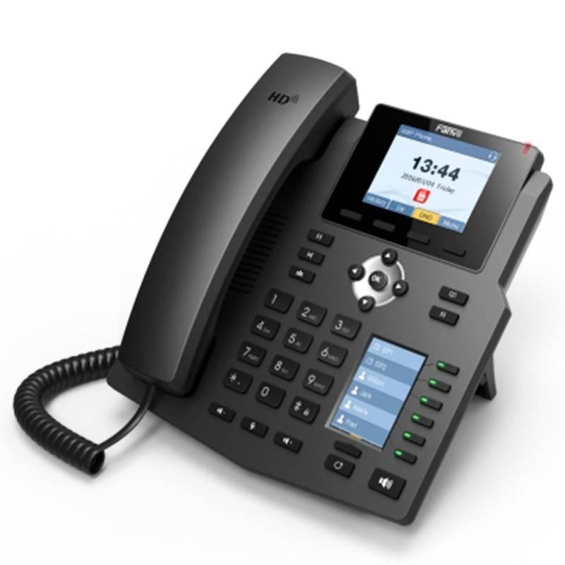 Fanvil X4G IP-Phone 4 SIP Lines Account , HD Voice, LCD Color 320x240 Phonebook Port Gigabit PoE VOIP / IP-PBX ระบบโทรศัพท์แบ...