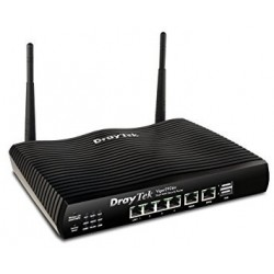 DrayTek Vigor2926n Dual WAN Load-balance VPN Router Wireless N 2.4Ghz VPN 50 Tunnels 3G USB