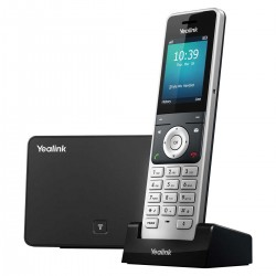 "Yealink W56P/H Dect Phone โทรศัพท์ IP-Phone หน้าจอสี 2.4"" 5 SIP Account, HD Voice รองรับ POE VOIP / IP-PBX ระบบโทรศัพท์แบบ IP"