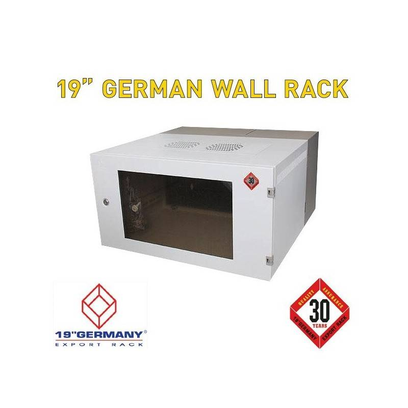 "19"" GERMAN Wall Rack G1-60506 ขนาด 6U กว้าง 60cm ลึก 50cm สูง 32cm Wall Rack"