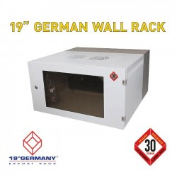 """19"""" GERMAN Wall Rack G1-60606 ขนาด 6U กว้าง 60cm ลึก 60cm สูง 32cm"""