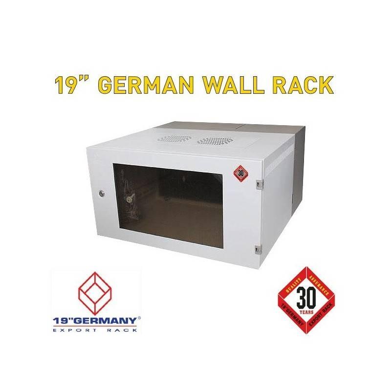 "19"" GERMAN Wall Rack G1-60606 ขนาด 6U กว้าง 60cm ลึก 60cm สูง 32cm Wall Rack"