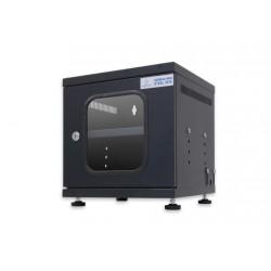 G6-30030B GERMAN MINI STEEL BOX W/Shelf (Black) (สีดำ) 30x30x30cm.