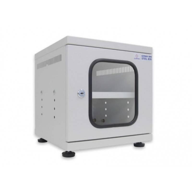 G6-30030W GERMAN MINI STEEL BOX W/Shelf (White) (สีขาว) 30x30x30cm. ตู้ Rack และ อุปกรณ์เสริม