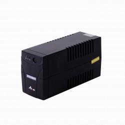 Syndome ATOM 800-LED เครื่องควบคุมและสำรองไฟฟ้าระบบ Line interactive ขนาด 800VA 320W UPS เครื่องสำรองไฟ