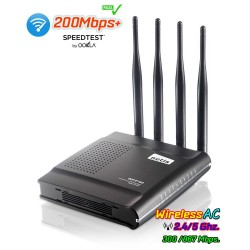 netis WF2780 AC1200 Wireless Dual Band Gigabit Router 4 เสา 5 dBi รองรับ Mode Repeater