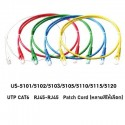 Link US-5103 สายแลน Patch Cord Cat6 เข้าหัวสำเร็จ ยาว 3เมตร รองรับความเร็ว Gigabit สาย LAN สำเร็จรูป Patch Cord