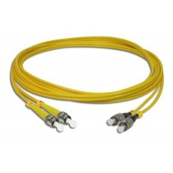 Link UFP948D31 Patch Cord Fiber Optic OS2 ST-FC Duplex Single-Mode UPC-UPC Patch Cord Fiber Optic Cable