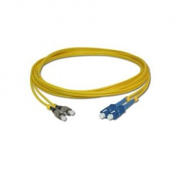 Link Fiber Optic อุปกรณ์ระบบ Fiber Link UFP968D31 Patch Cord Fiber Optic OS2 SC-FC Duplex Single-Mode UPC-UPC