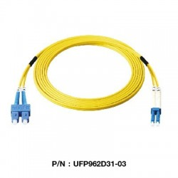 Link Fiber Optic อุปกรณ์ระบบ Fiber Link UFP962D31 Patch Cord Fiber Optic OS2 SC-LC Duplex Single-Mode UPC-UPC