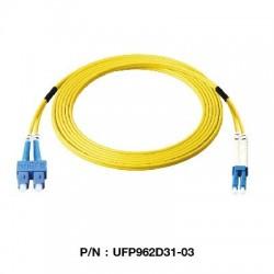 Link UFP962D31 Patch Cord Fiber Optic OS2 SC-LC Duplex Single-Mode UPC-UPC Fiber Optic อุปกรณ์ระบบ Fiber