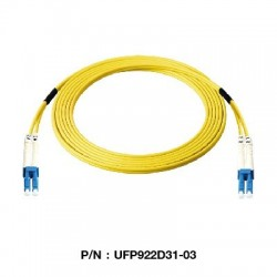 Link Fiber Optic อุปกรณ์ระบบ Fiber Link UFP922D31 Patch Cord Fiber Optic OS2 LC-LC Duplex Single-Mode UPC-UPC