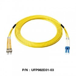 Link Fiber Optic อุปกรณ์ระบบ Fiber Link UFP982D31 Patch Cord Fiber Optic OS2 FC-LC Duplex Single-Mode UPC-UPC