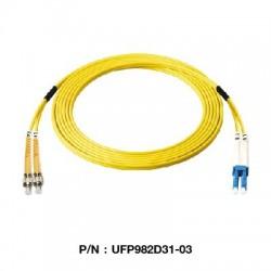Link UFP982D31 Patch Cord Fiber Optic OS2 FC-LC Duplex Single-Mode UPC-UPC Fiber Optic อุปกรณ์ระบบ Fiber