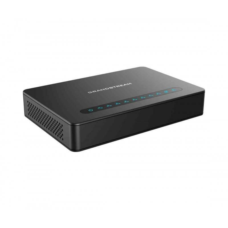 Grandstream Grandstream HT-818 Analog-To-VoIP converter 8-Port VoIP Gateway, 8 FXS ports 2 Port Lan Gigabit