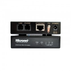 Micronet SP3501AM/AS VDSL CO/CPE Modem Extender เชื่อมเครือข่ายผ่านสายโทรศัพท์ Pack คู่. 1.9Km VDSL Converter