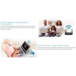 Asus RT-AC58U Dual-band Wireless-AC1300 Wifi Router MU-MIMO Wave2 Streaming 4K Videos Router/ Firewall/ VPN/ Loadbalance