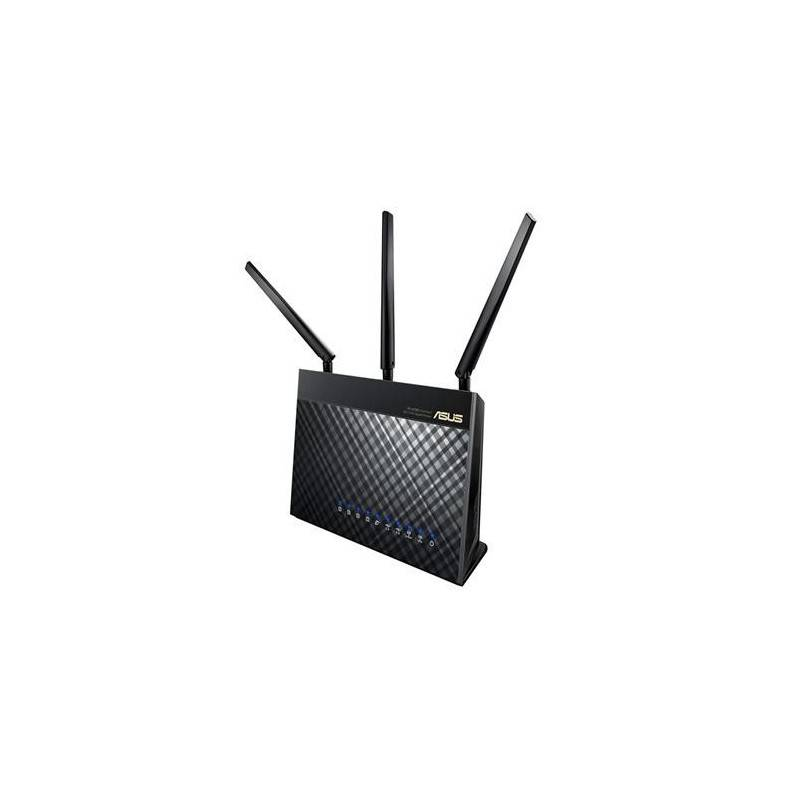 Asus RT-AC68U AC1900 Dual Band Gigabit WiFi Router, AiMesh, AiProtection, QOS USB 3.0 Router/ Firewall/ VPN/ Loadbalance