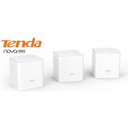 Tenda Wireless AccessPoint (กระจายสัญญาณ Wireless) TENDA MW3 (2-Pack) AC1200 Whole Home Mesh WiFi System Dual-Band กระจายสัญญ...