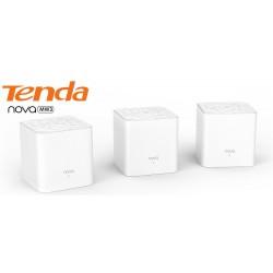 TENDA MW3 (2-Pack) AC1200 Whole Home Mesh WiFi System Dual-Band กระจายสัญญาณได้ถึง 2500sq.ft Wireless AccessPoint (กระจายสัญญ...