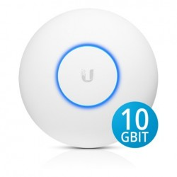 Ubiquiti UniFi UAP-XG Access Point AC Wave2 Quad-Radio WiFi AP with 10 Gigabit Ethernet, 2533Mbps Wireless AccessPoint (กระจา...