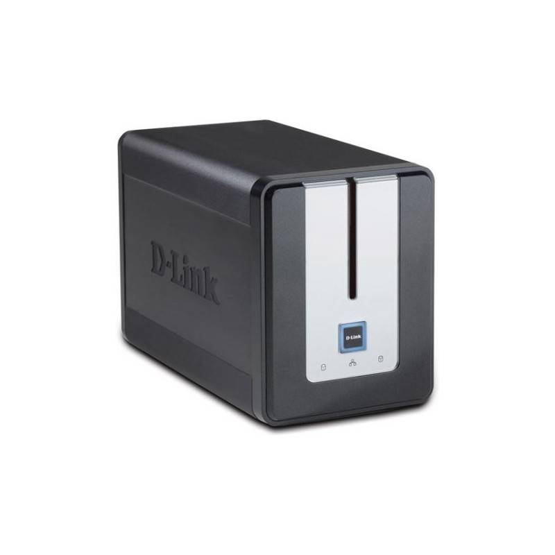 D-Link DNS-323 2-Bay NAS Enclosure + BitTorrent Supported Home