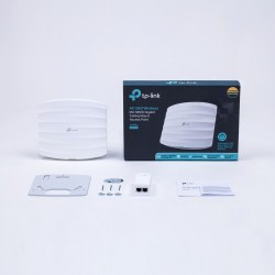 TP-LINK EAP225 AC1350 Wireless Access Point Dual-Band Gigabit Ceiling Mount, OMADA Controller Wireless AccessPoint (กระจายสัญ...