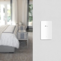 TP-LINK EAP225-WALL Omada AC1200 Wireless MU-MIMO Wall-Plate Access Point Wireless AccessPoint (กระจายสัญญาณ WIFI)