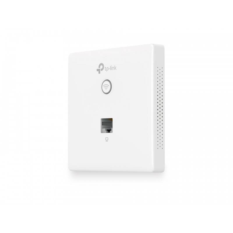 TP-LINK EAP115-WALL Wireless N Wall-Plate 2.4GHz 300Mbps Access Point, OMADA Controller Wireless AccessPoint (กระจายสัญญาณ WIFI)